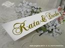 Auto tablica za vjenčanje TIP 5