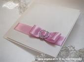 Pozivnica za vjenčanje Stylish Pink Exclusive