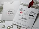 Pozivnica za vjenčanje - Mustache Charm