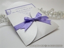 Pozivnica za vjenčanje Lilac Mini Beauty