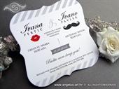 Pozivnica za vjenčanje - Mustache Vintage Line