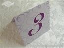 Broj stola za vjenčanje - Purple Love