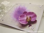 Ekskluzivna čestitka - Orchid Charm