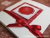Pozivnica za vjenčanje Romantic kišobran za dvoje