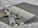 ekskluzivna srebrna pozivnica sa leptirima