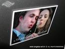 Konfet za vjenčanje Fotografija na magnetnoj foliji