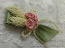 Kitica za rever z agoste vjenčanja - Pink Roses