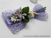 Kitica i rever za vjenčanje Lila morska zvijezda