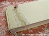 Knjiga gostiju za vjenčanje Ružičasta ružica