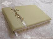 Knjiga gostiju za vjenčanje Krem perle
