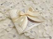 Pozivnica za vjenčanje na popustu akciji krem  boje