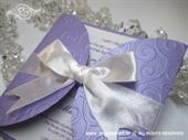 Pozivnica za vjenčanje Lilac Diva
