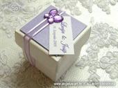 Konfet za vjenčanje Konfet Purple Butterfly