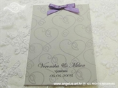Zahvalnica za vjenčanje Purple Love