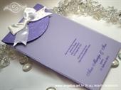 Zahvalnica za vjenčanje Lilac Swirls