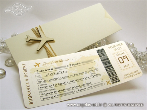 Boarding pass etui