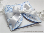 Ekskluzivna čestitka - Blue Snowflake