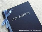 Pozivnica za vjenčanje Pozivnica putovnica