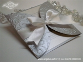 Pozivnica za vjenčanje Silver Diva