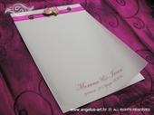 Zahvalnica za vjenčanje Violet Romance