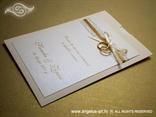 zahvalnica za vjenčanje na izvlačenje sa zlatnim prstenom
