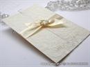 Zahvalnica za vjenčanje Cream & White Love