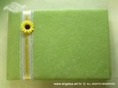 Knjiga gostiju za vjenčanje Suncokret u travi